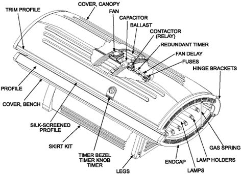 Wiring Diagram For Tanning Bed by Wolff Tanning Gt G Series Gt G 24sh