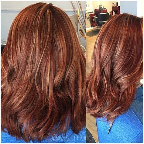 image result  blonde  reddish highlights hair