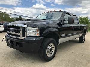 2006 Ford F250 Xlt Diesel Powerstroke 4x4 Crew Cab New Tires W  Only 127k Miles