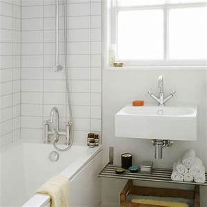 Simple small bathroom bathroom decorating housetohome for Simple small bathroom designs