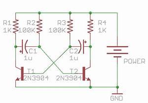 Capacitor - Understanding A 2 Transistor Oscillator