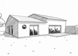 plan de maison carre avec patio interieur agrandir un With superior maison en forme de u 1 plan maison traditionnelle avec patio ooreka