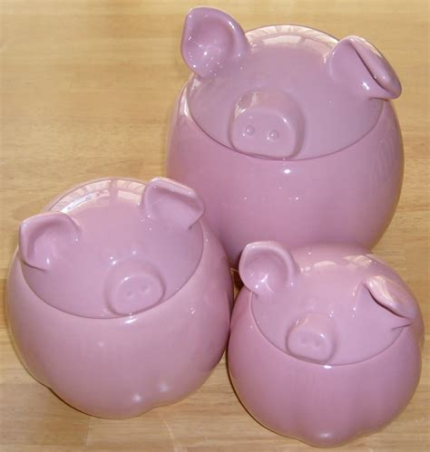 pig kitchen canisters 28 images pig kitchen canisters