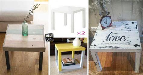 table de cuisine chez ikea relooker une table lack de chez ikea 15 idées laissez