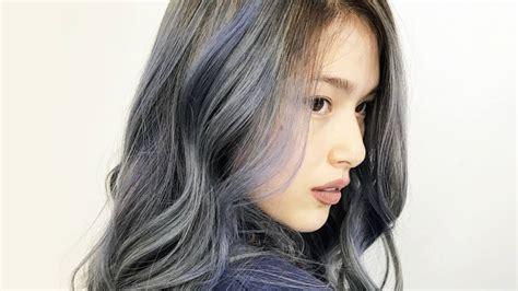 kylie padilla grayish blue hair color