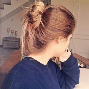 Long Hair Don39t Care Hipster Indie Tumblr Girl Messy Bun