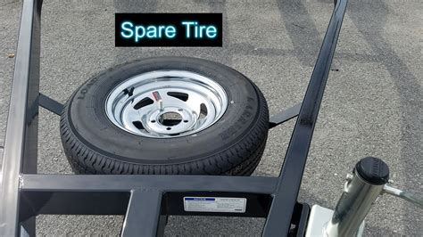 Boat Trailer Tire Mount by Triton Boat Trailers Marine Master Trailers