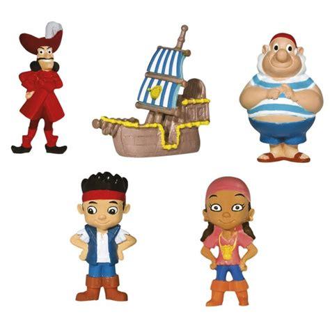 d 233 coration de g 226 teau figurines jake le pirate disney pour
