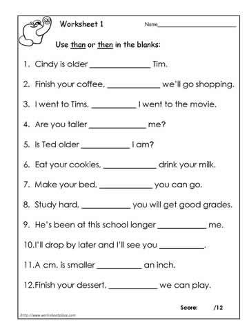 score  great work    worksheet