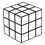Cube Coloring Pages Transformation Rubik Rubiks Imagery Level Figure Vs sketch template