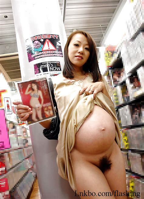 Pregnant Asian Woman Flashing Her Pussy And Boobs In Porn