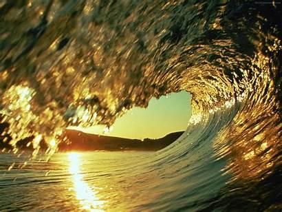 Ocean Wallpapers Waves Inside Wave Sunset Oceans