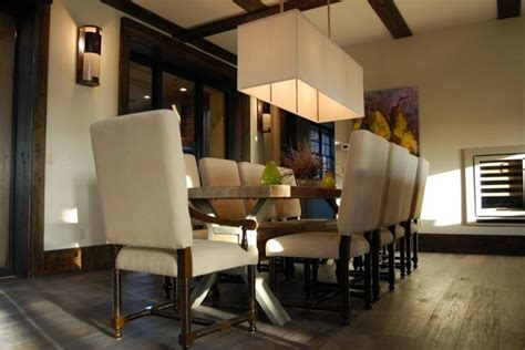 Rectangle Chandelier  Make A Statement In Your Dining Room