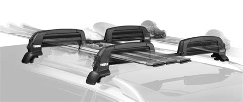 thule ski rack thule snowcat ski rack snowboard rack truckstuffdirect