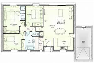 plan de maison 5 pièces gratuit