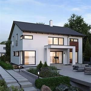 Modernes Haus Satteldach : modernes einfamilienhaus mit satteldach architektur ~ A.2002-acura-tl-radio.info Haus und Dekorationen