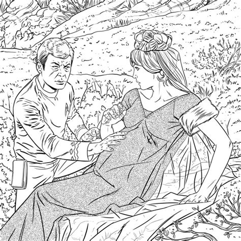 trek coloring book trek the original series coloring book