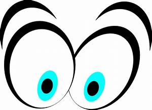 Animated Blue Cartoon Eyes Clip Art at Clker.com - vector ...
