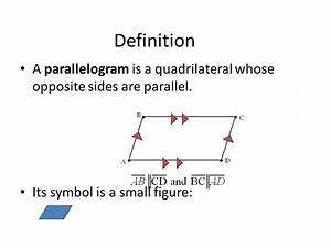 G.9 Quadrilaterals Part 1 Parallelograms Modified by Lisa ...