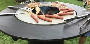 Plancha Haut De Gamme : table haute bras ro plancha fusion bois jardinchic ~ Premium-room.com Idées de Décoration