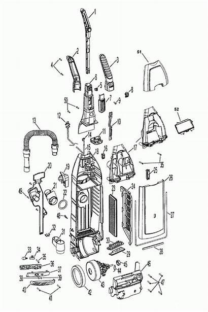 Shark Vacuum Parts Diagram Navigator Cleaner Motor