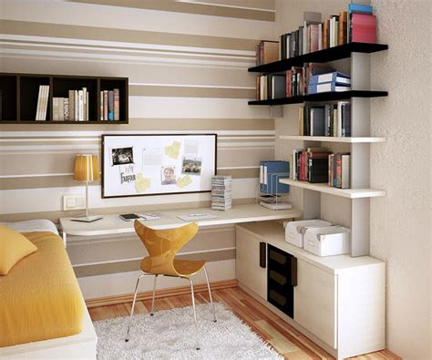 Small Bedroom Office Ideas how to place furniture in a small space freshome