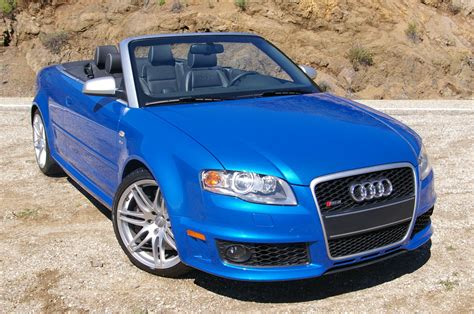 Audi Cabriolet Technical Details History Photos