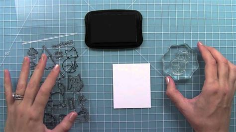 clear stamps youtube