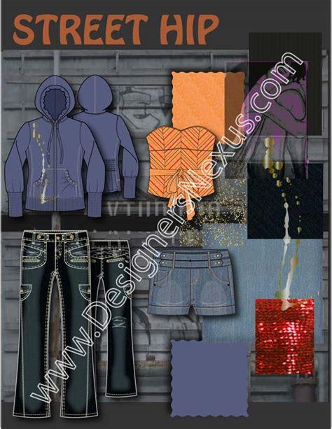 fashion design portfolio examples layout  swatches