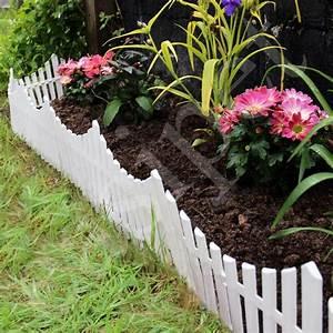 Garden, Border, Fencing, Fence, Pannels, Outdoor, Landscape, Decor, Edging, Yard, 12, Pack