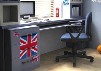 chambre style londres déco chambre ado style londres kit stickers drapeau