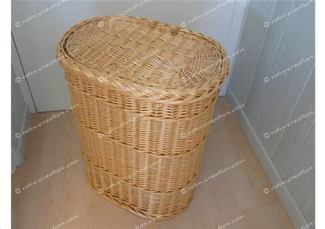 armoire lit avec canapé panier à linge ovale 2132 en osier panier à linge en