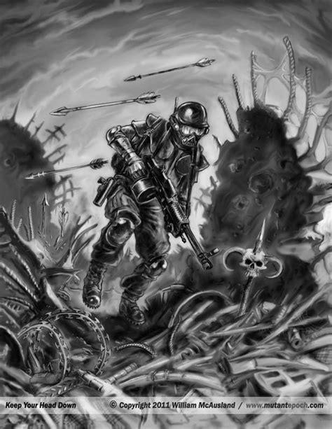 mutant epoch gallery  game art  illustration