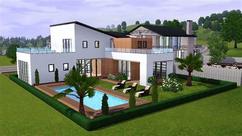 villa moderne 5 maisons des sims 3
