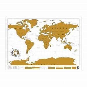 Carte Du Monde à Gratter Maison Du Monde : carte du monde gratter achat vente statue statuette m tal cdiscount ~ Teatrodelosmanantiales.com Idées de Décoration