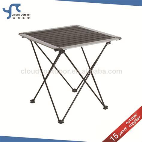 roll up aluminium table roll up top small cing aluminum diy folding table buy