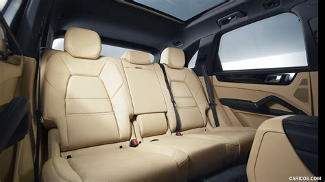 Cayenne Back Seat by 2019 Porsche Cayenne S Interior Rear Seats Hd