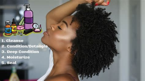 cwk epi  basic natural hair care regimen beginner