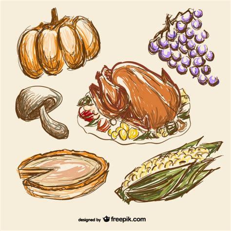 dibujos de comida  accion de gracias descargar