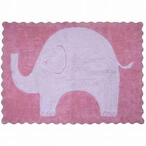 Tapis Rose Et Gris : 39 tapis design pour enfant th me l phant aratextil ~ Dailycaller-alerts.com Idées de Décoration