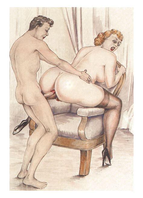 Art Toon Porno Erotic Drawings Hardcore Cartoons Vintage