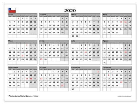 calendario chile calendario imprimir
