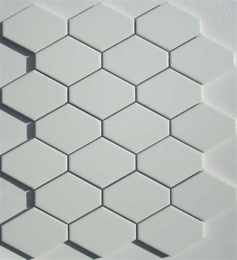 elongated hex tile lyric lounge elongated hex tile plane in candlelight white