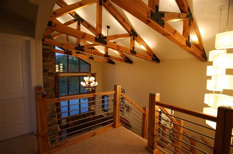 building  home cable rail staircase hometalk
