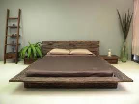 Appealing Traditional Asian Bed Called Delta Low Profile
