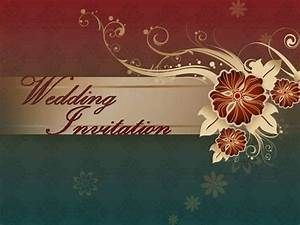 santhoshi wedding invitation authorstream With wedding invitations ppt free download