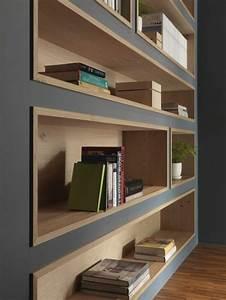 Fabriquer Une étagère Murale Originale : 1001 id es comment d corer vos int rieurs avec une niche murale ~ Dode.kayakingforconservation.com Idées de Décoration