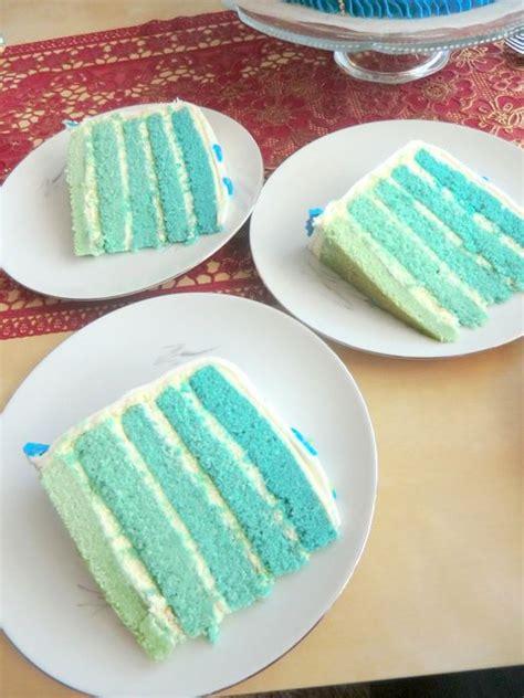 blue layer cake twindays