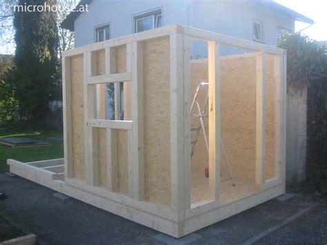 Modernes Gartenhaus Selber Bauen by Minihaus Selber Bauen Mini Haus Bauen Haus Auf Stelzen