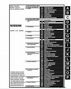 Download Nissan A36 Factory Oem Service Manual 2015